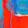 bold colourful abstract