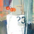 abstracted yacht close up