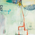 Abstracted fishing boat
