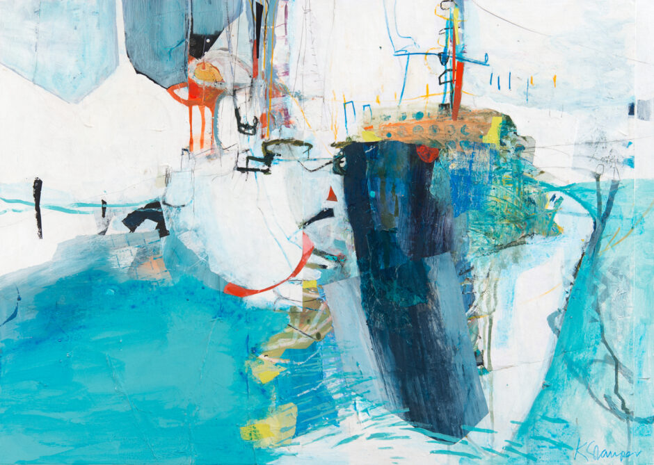 Abstracted boats